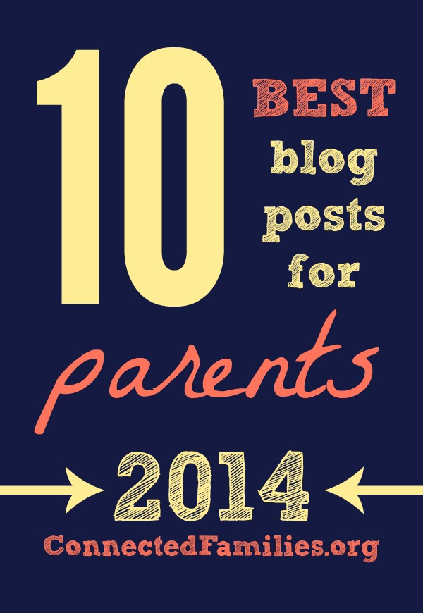 2014 Best 10 Parenting Blog Connected Families pin